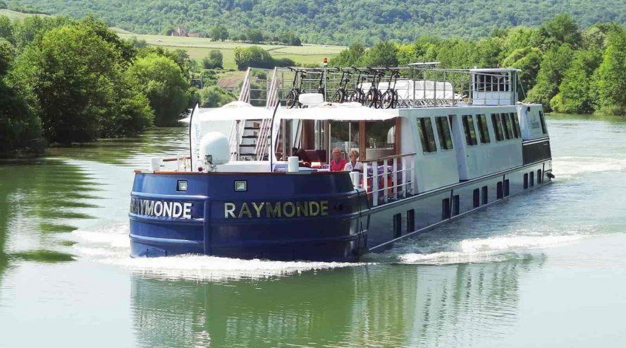 Barge Raymonde ulkokuva ©CroisiEurope