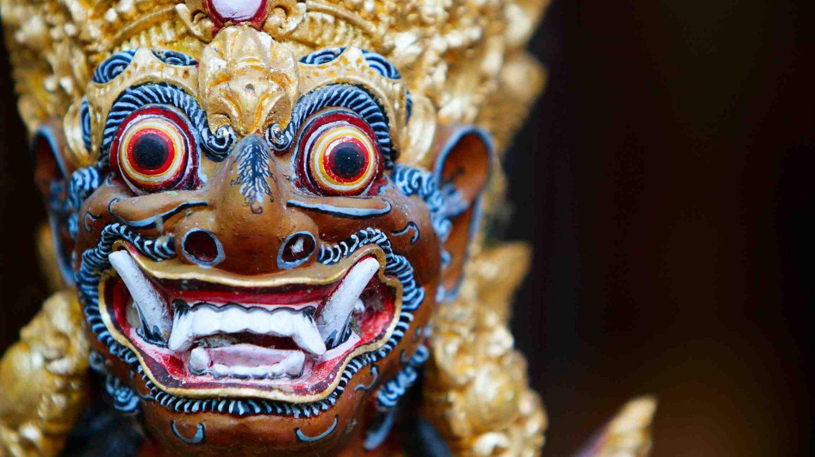 Balilainen naamio Indonesia