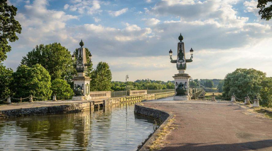 Briare kanava Loirejoki