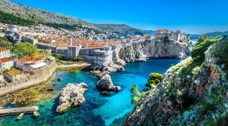 Dubrovnikin vanha kaupunki Kroatia
