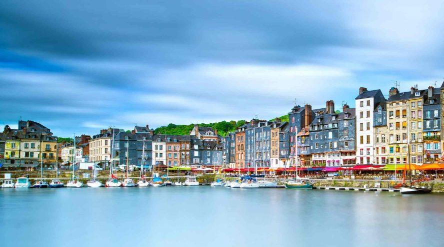 Honfleurin satama Ranska