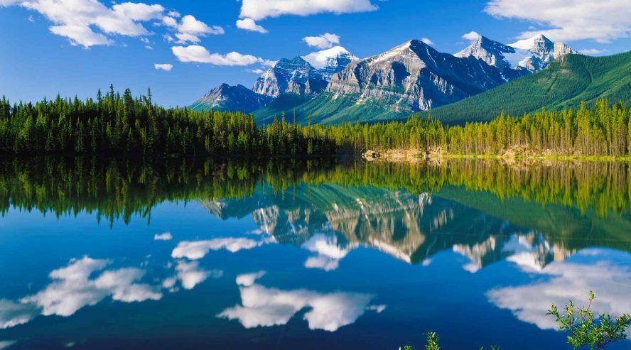 Kanada järvimaisema