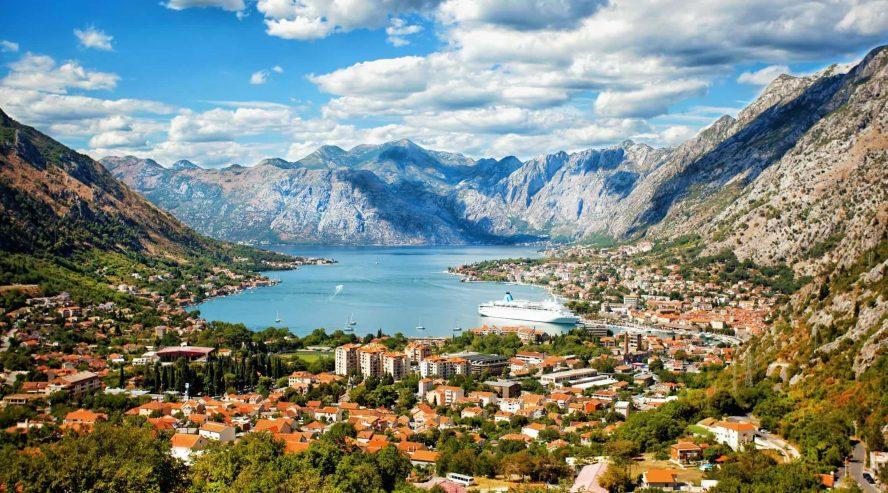 Kotorin lahti Montenegro 1