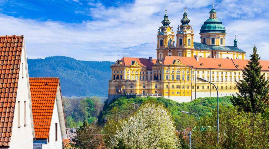 Melkin luostari Itävalta