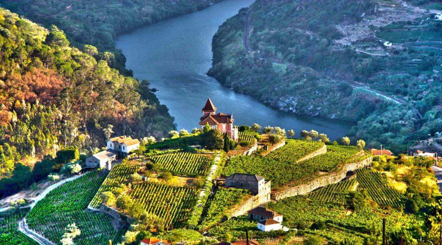 Douron laakso Dourojoki Espanja Portugali