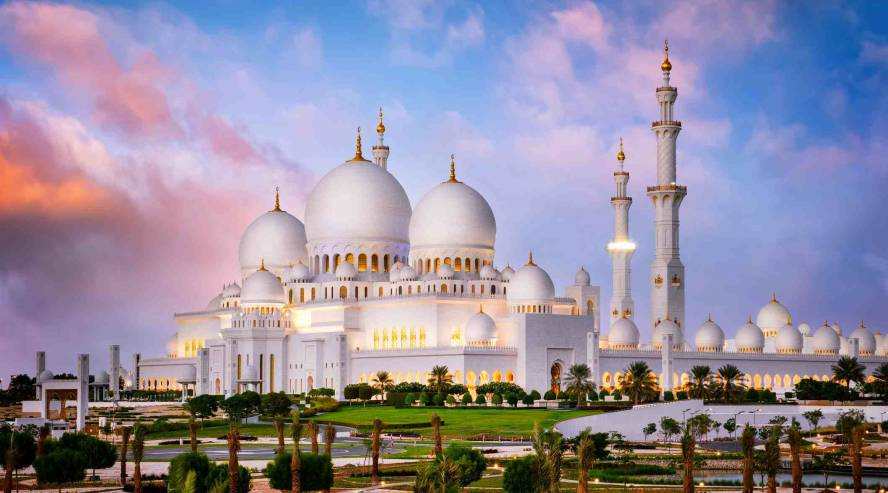 Sheikki Zayedin moskeija Abu Dhabi Arabiemiirikunnat