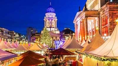 Pohjois-Saksan helmet ja Berliinin joulutorit 5 yötä