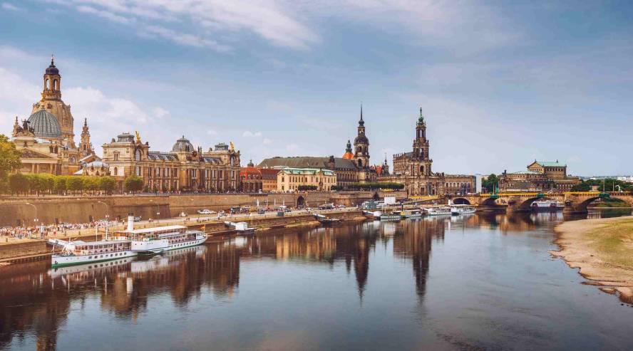 Dresden Elbejoki Saksa