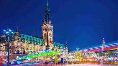 Jouluristeily Saksaan 21.12.2019
