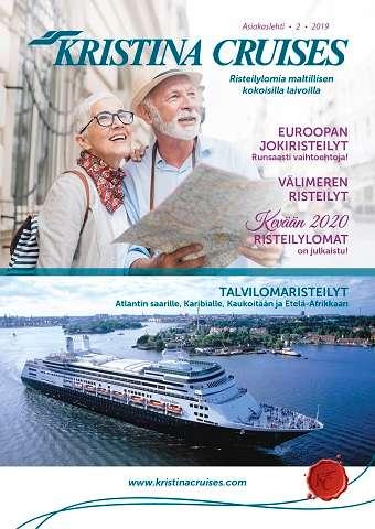 Kristina Cruises asiakaslehti 2 2019 kansi
