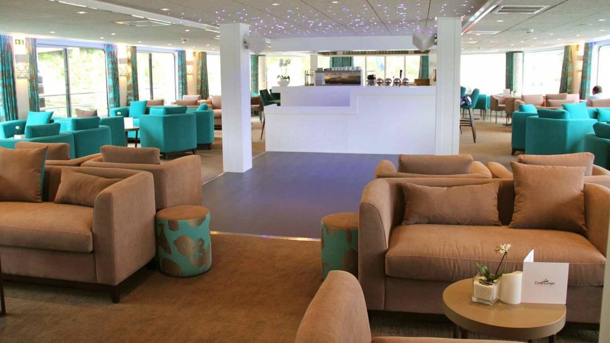 Gil Eanes Lounge Bar CroisiEurope©Giorgetti