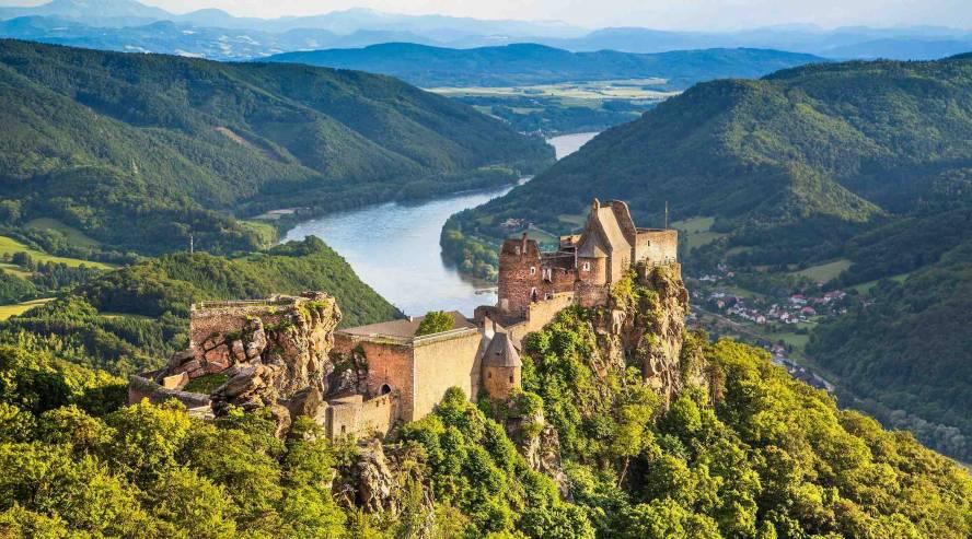 Wachaun laakso Itävalta Tonavan risteily