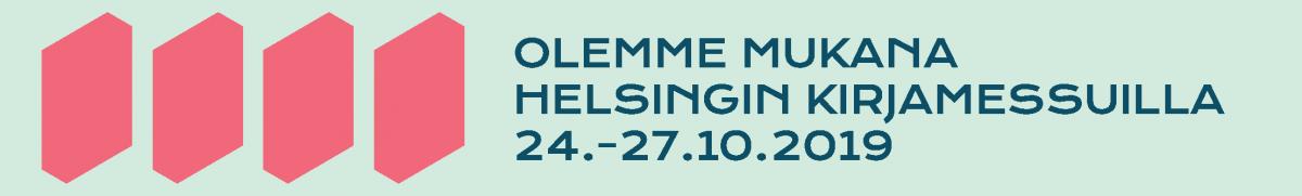 Kristina Cruises olemme mukana Helsingin Kirjamessuilla 24. 27.10.2019
