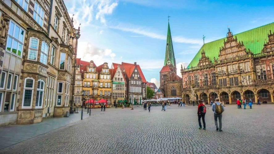Bremenin kauppatori Saksa
