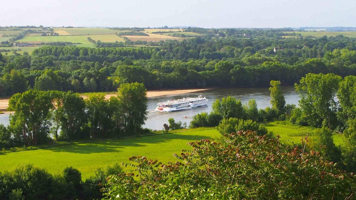Loire Princesse maisemakuva CroisiEurope©Michel Friz