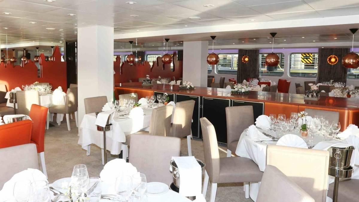 Loire Princesse ravintola 2 CroisiEurope©Haubtmann