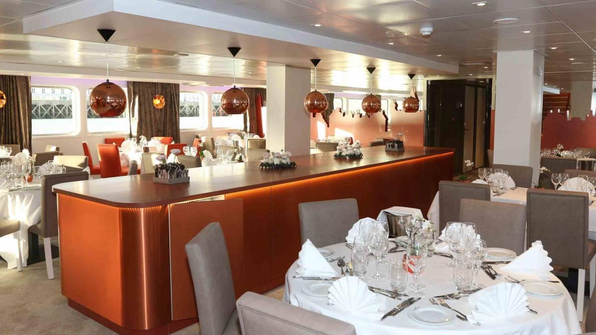 Loire Princesse ravintola CroisiEurope©Haubtmann