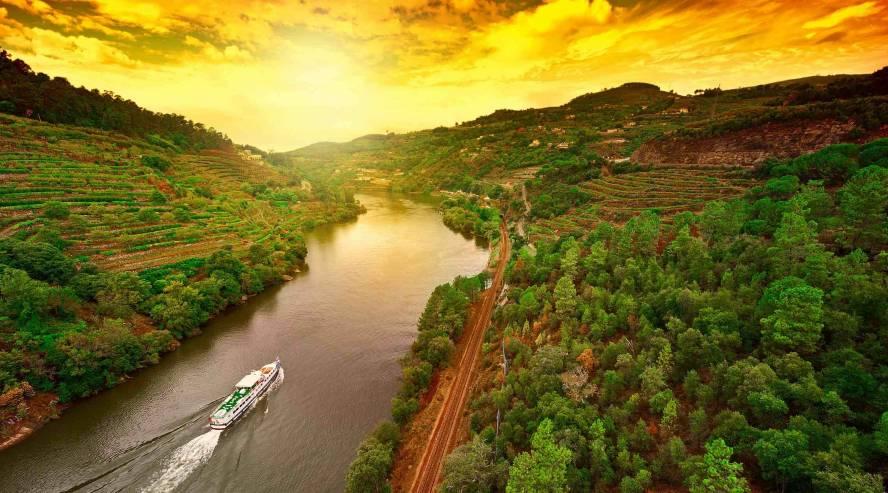 Dourojoen laakso Portugali
