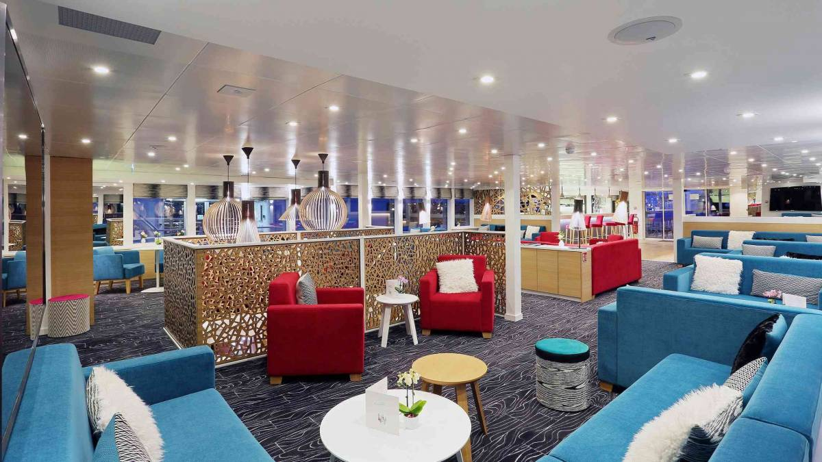 Elbe Princesse lounge CroisiEurope©O