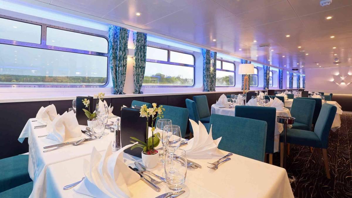Elbe Princesse ravintola 2 CroisiEurope©O