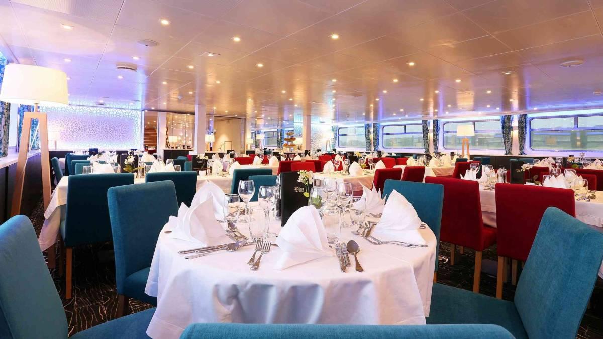 Elbe Princesse ravintola CroisiEurope©O