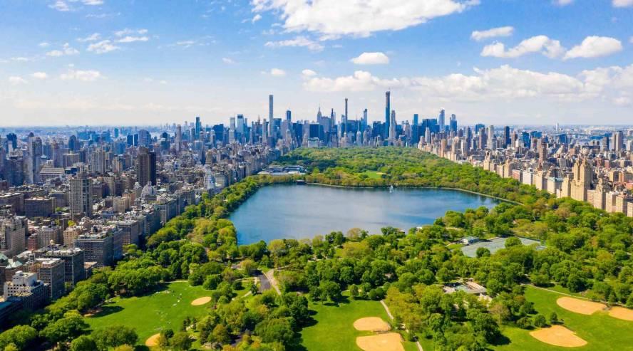 New York keskuspuisto Yhdysvallat