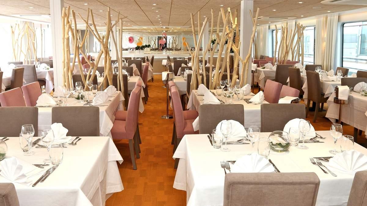 Camargue ravintola CroisiEurope©Haubtmann
