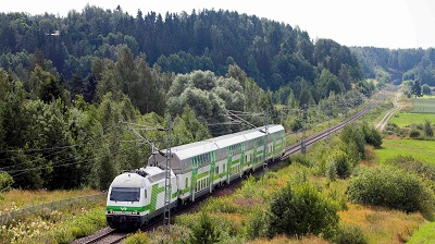Intercity juna Kristina Rails WRC © VR Group