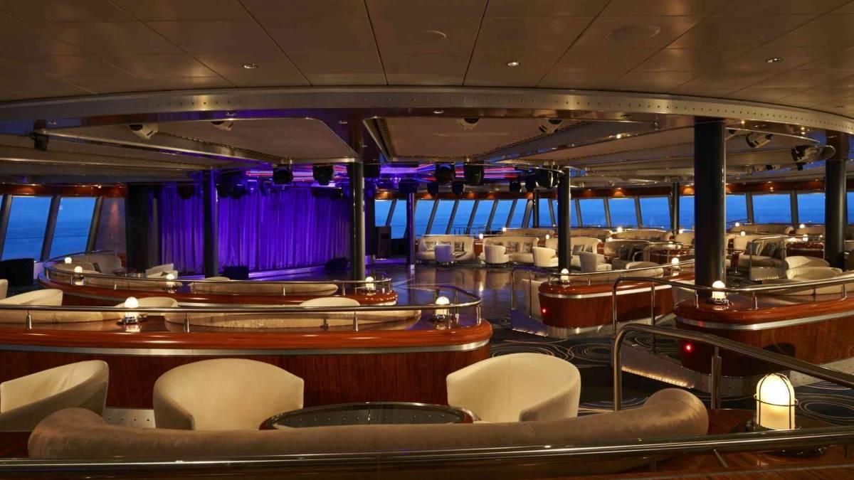 Spinnaker Lounge Norwegian Jade ©NCL